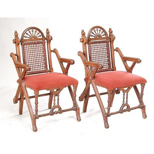 16: Pair Hunzinger Armchairs