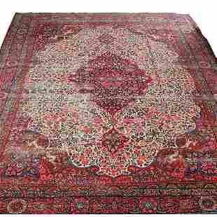 19th c. Room Size Persian Carpet