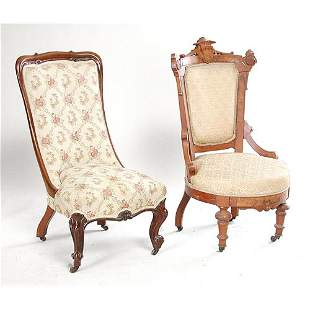 Two Victorian Chairs