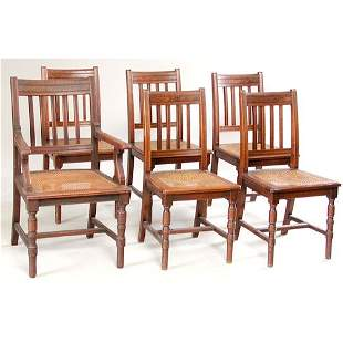 Set of Victorian Dining Chairs