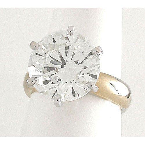 215: 7.30ct. diamond solitaire