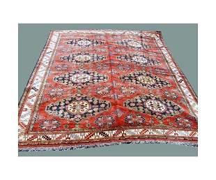"Persian carpet. 14' 7"" x 10' 4"""