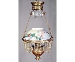 Hanging Victorian Bellshade Lantern.