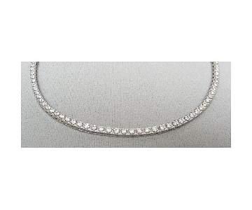 220: 8ct Diamond Tennis Necklace
