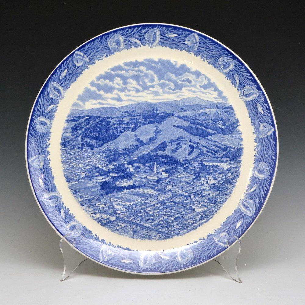 Wedgwood University of California, Berkeley Platter in