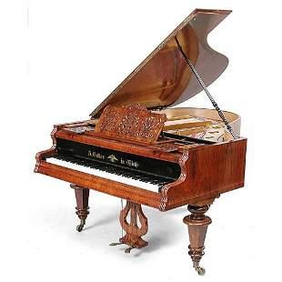 Viennese Baby Grand Piano.