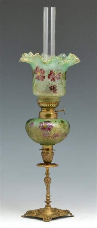 "Universal Lamp Company Peg Lamp, 18.75"" tall"