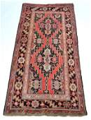 """Antique Persian Scatter Rug, 7'5"""" x 3'6"""""""