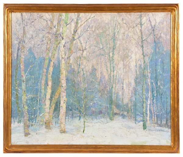 Edward K. Williams, Brown County, Indiana, Winter Woods