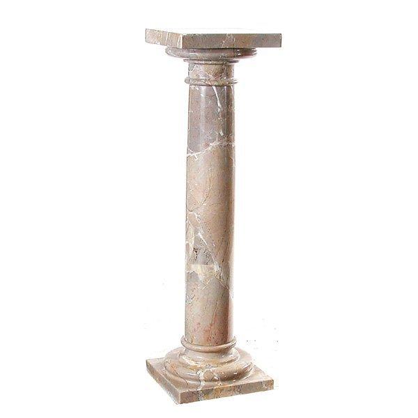 "2: Marble Pedestal, 41.5"""