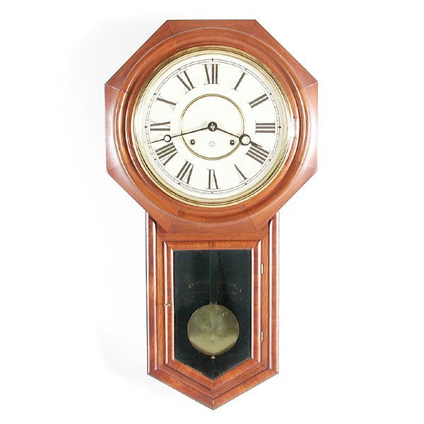 13: Ansonia Long Drop Clock