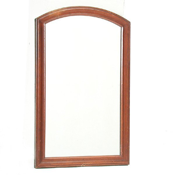 17: Walnut Framed Wall Mirror