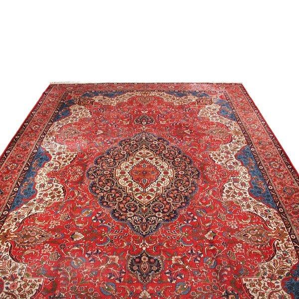 """23: Persian Tabriz Rug, 18'6"""" x 11'6"""""""