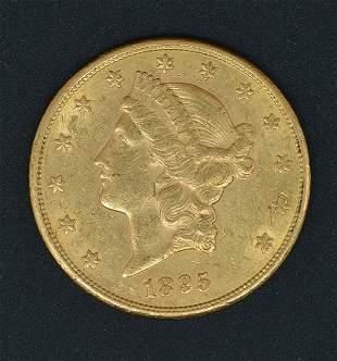 1895 $20 Liberty Head Double Eagle Gold Coin