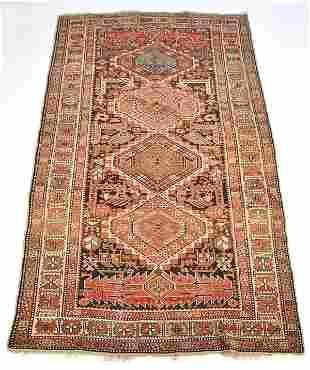 "Persian Carpet, 7' 8"" x 4' 2"""