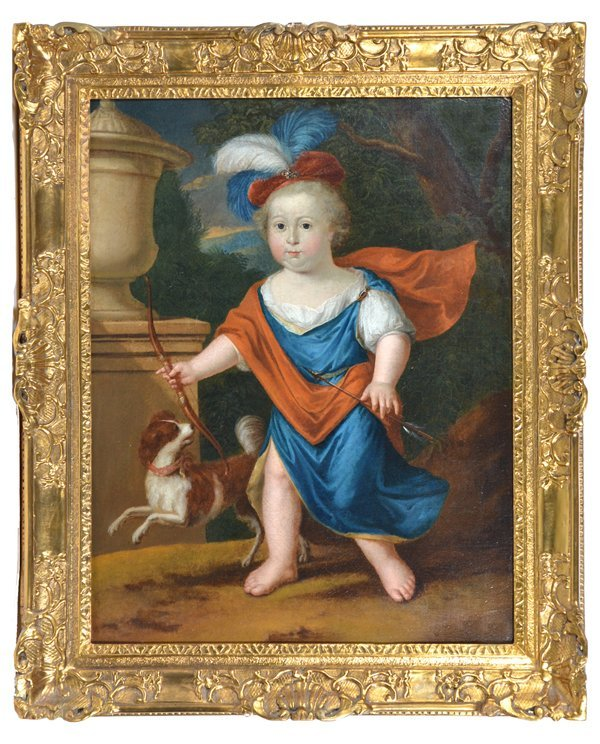 English School Portrait Of Edward VI As A Child