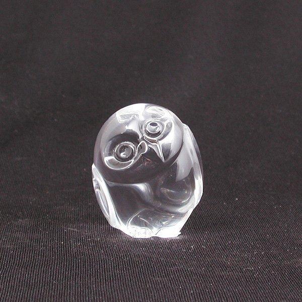 7: Steuben Glass Owl