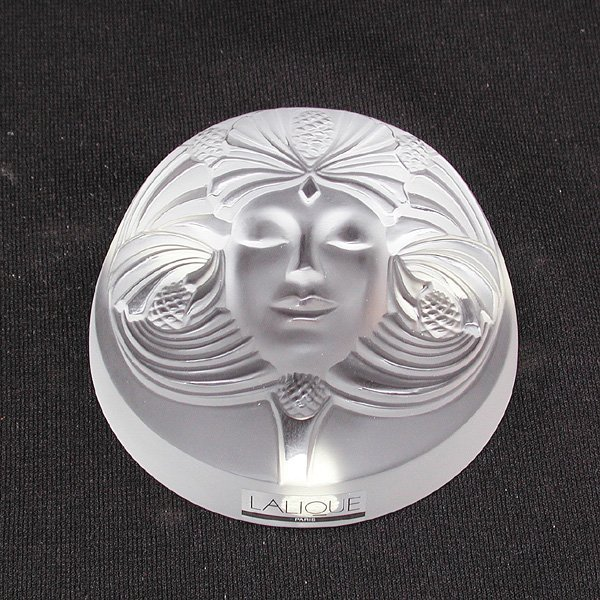 13: Lalique Crystal Paperweight, Psyche