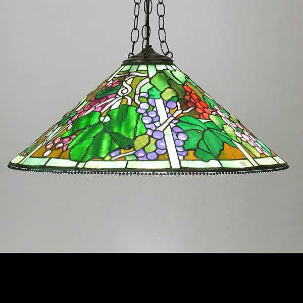 20: Hanging Stained Glass Shade