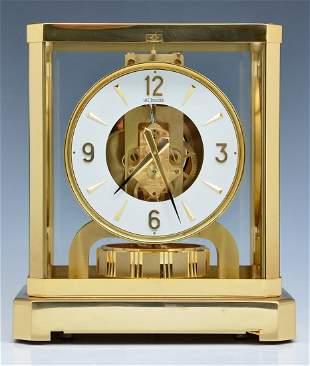 LeCoultre Atmos clock, c 1970s, # 33772