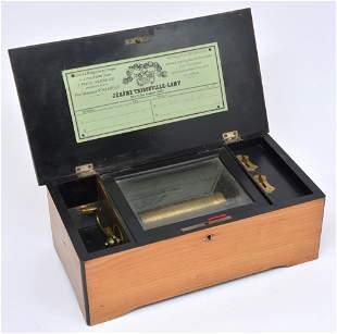 19th c French Music Box, Jerome Thibouville-Lamy