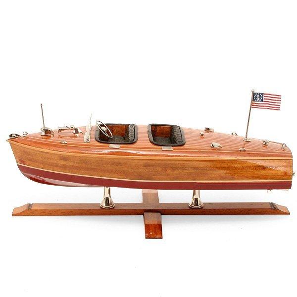 Chris-Craft Style Speed Boat Model
