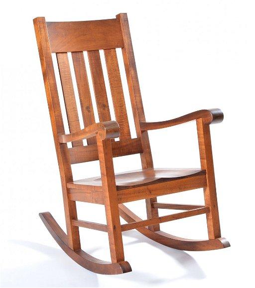 Surprising Hawaiian Koa Rocker Martin Macarthur Machost Co Dining Chair Design Ideas Machostcouk