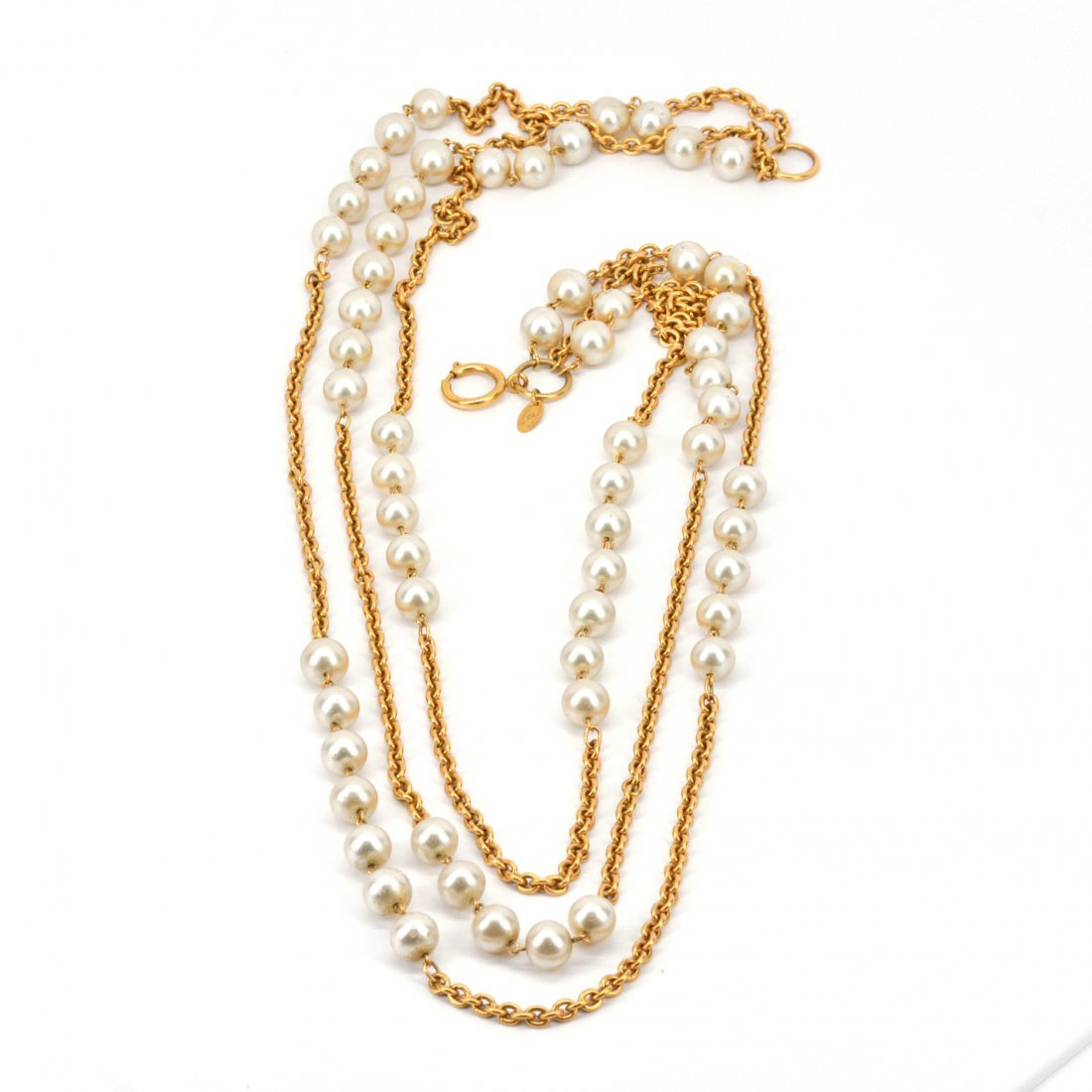 Chanel Pearl Sautoir Necklace - 2