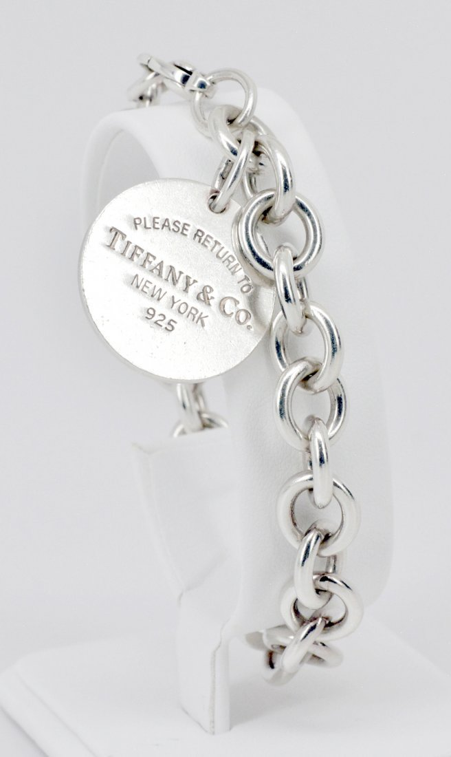 Tiffany & Co. Sterling Charm Bracelet