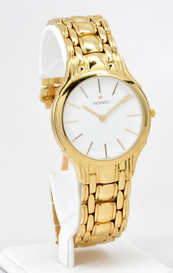 14k Gold Movado Wristwatch