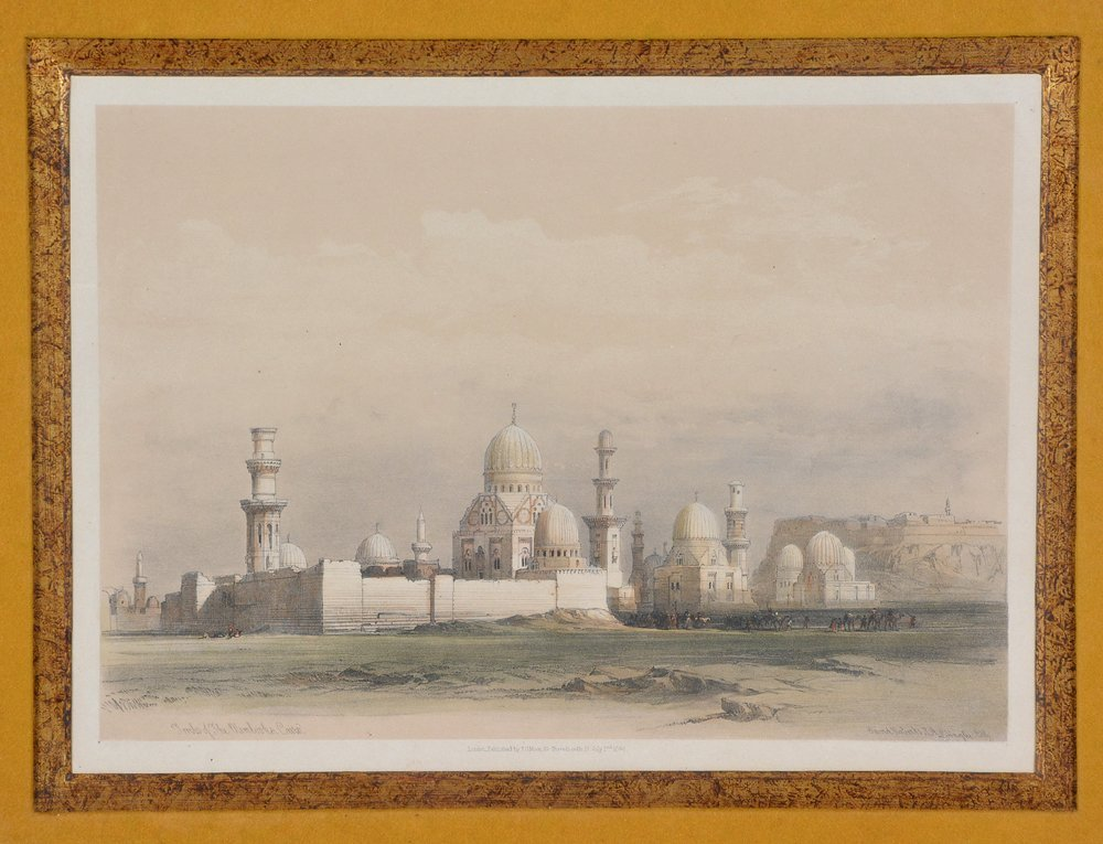 3 David Roberts lithographs, Egyptian Monuments - 7