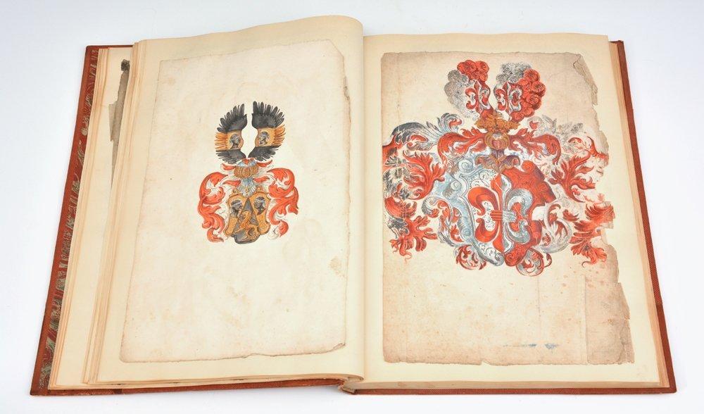 Book of Heraldic Coats of Arms, A.V. de Musi, c 1520 - 10