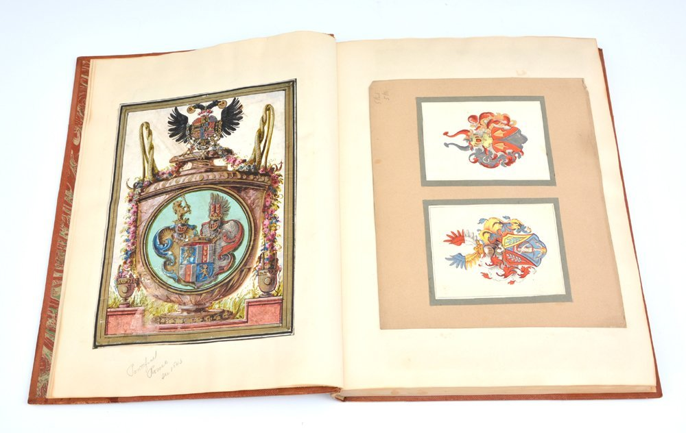 Book of Heraldic Coats of Arms, A.V. de Musi, c 1520