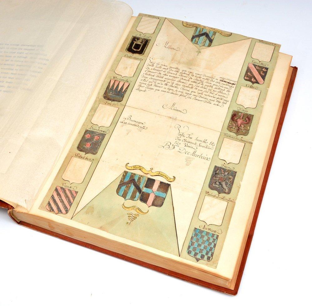 Book of Heraldic Coats of Arms, A.V. de Musi, c 1520 - 4