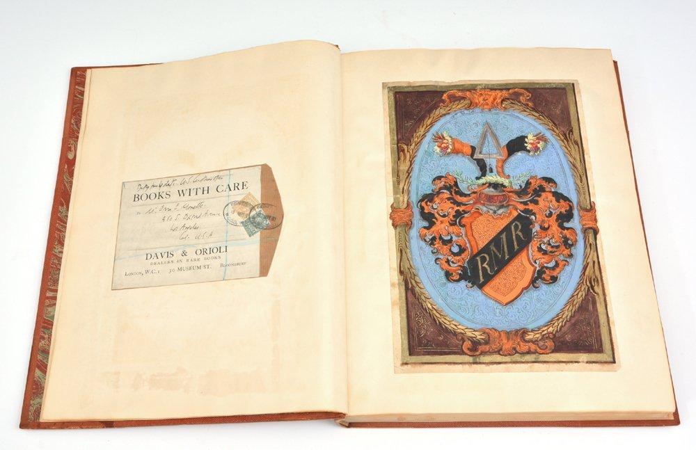 Book of Heraldic Coats of Arms, A.V. de Musi, c 1520 - 5