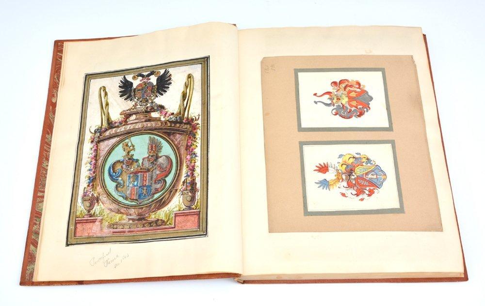Book of Heraldic Coats of Arms, A.V. de Musi, c 1520 - 6
