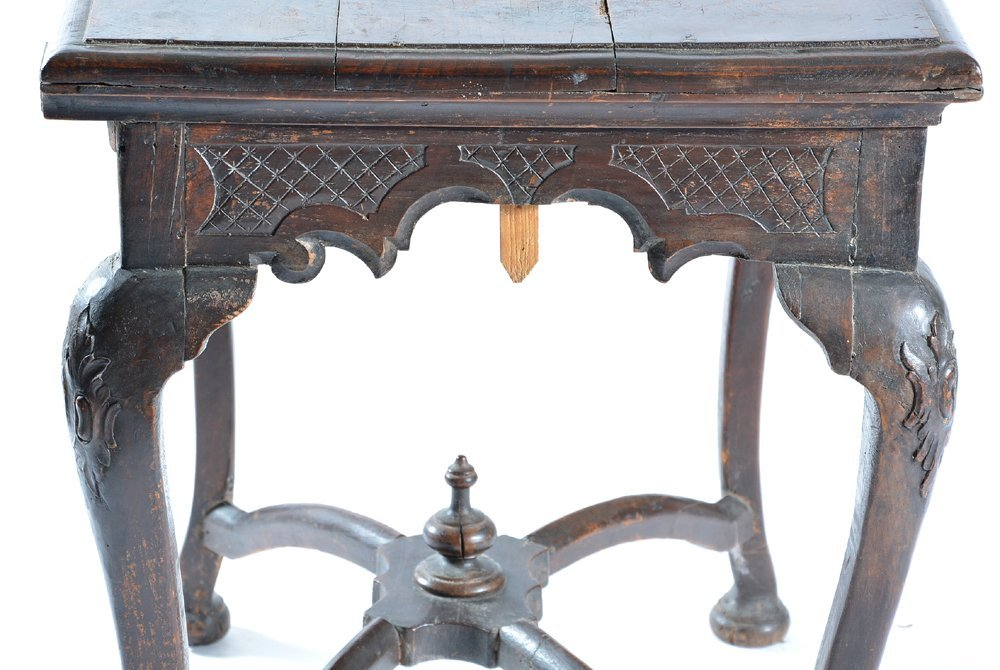 Spanish table with cabriole legs, 18th/19th c - 3