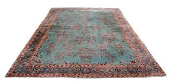"Palace size persian carpet, 17' 9"" x 11' 9"""