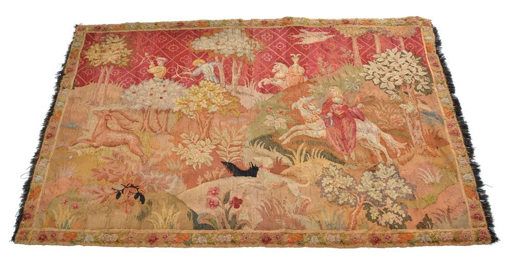 Renaissance style tapestry, 19th c