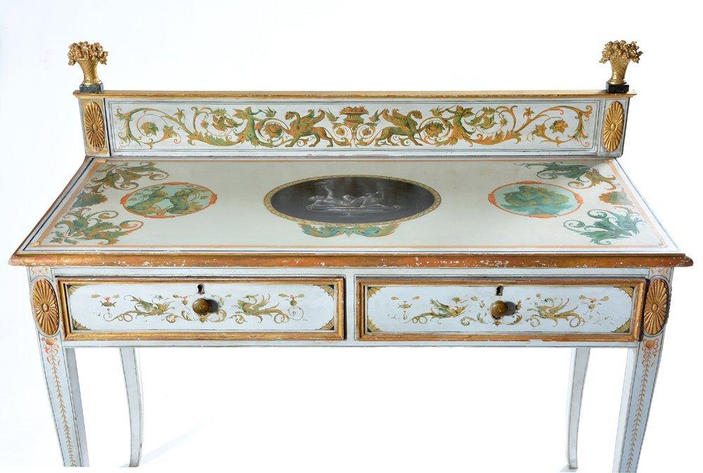 Pomeiian style sideboard, handpainted - 2