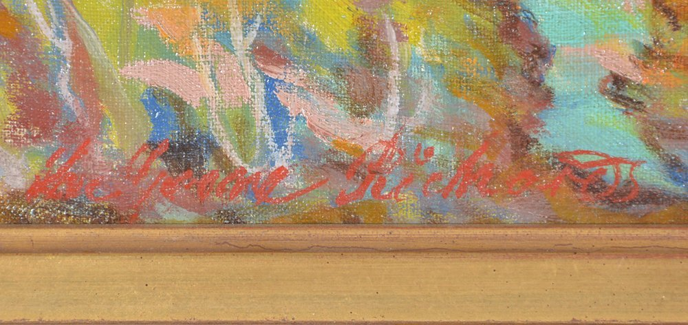 Lee Greene Richards, Mountain Landscape, oil/canvas - 2
