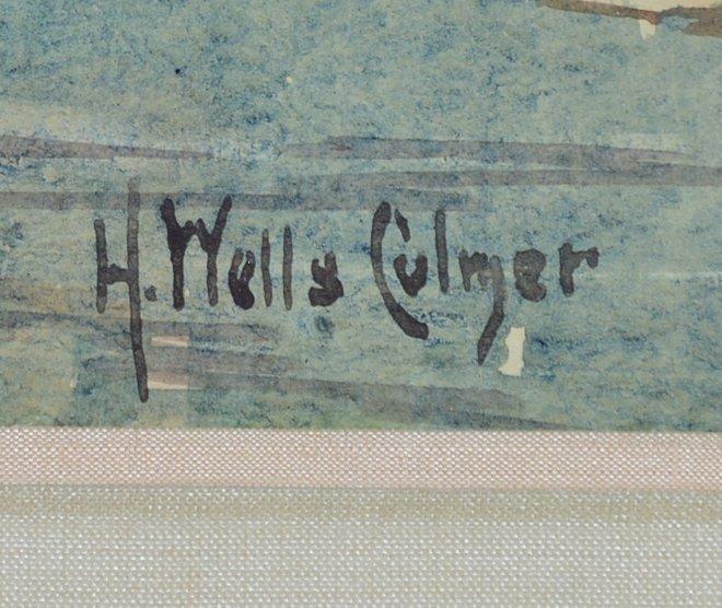 H. Wells Culmer, Zions, Utah , watercolor on paper - 2