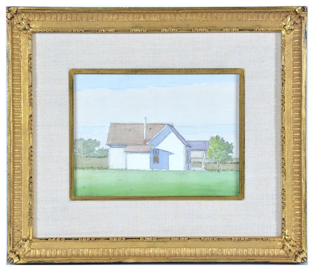 LeConte Stewart (1891-1990), White House , watercolor,