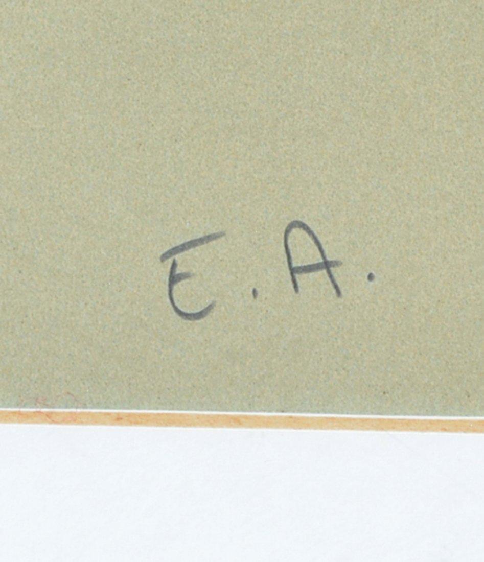 Alexander Calder lithograph, Pyramids, signed - 3