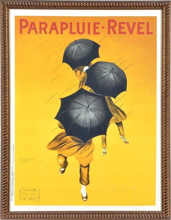 Leonetto Cappiello, Parapluie-Revel poster, 1922