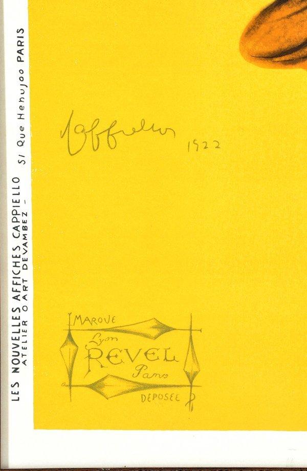 Leonetto Cappiello, Parapluie-Revel poster, 1922 - 2