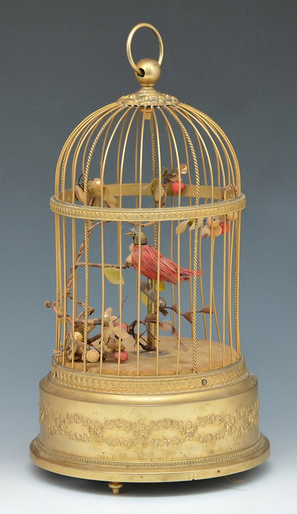 French singing bird automaton