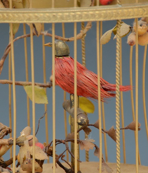 French singing bird automaton - 2