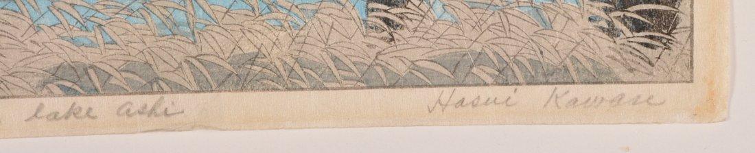 2 Kasamatsu Shiro woodblocks - 4