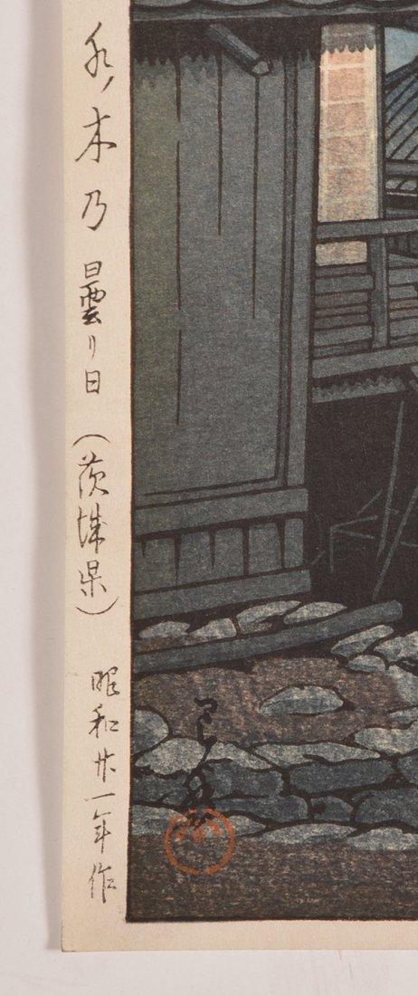 Hasui Kawase woodblock - 2